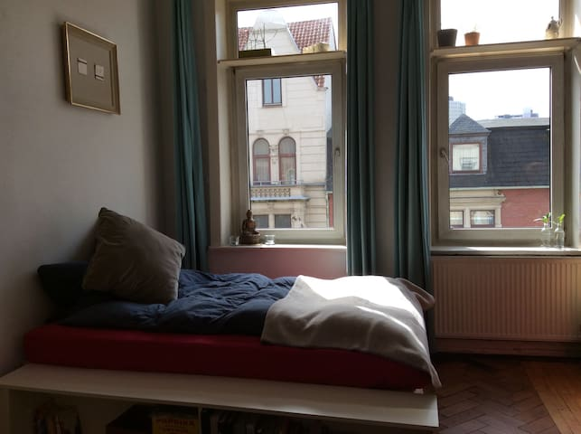 Messezimmer, zentral, in WG - Hannover - Apartment