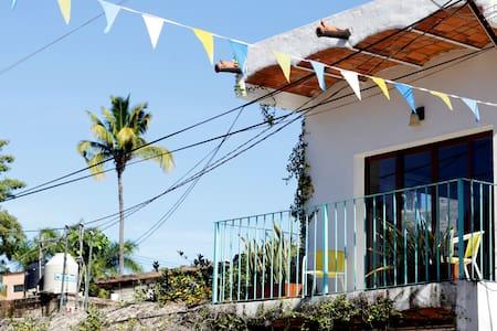 Casita Sessa - upstairs, on Main Street San Pancho