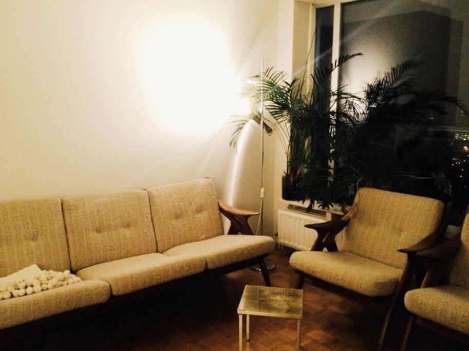 Bedroom / living room 1