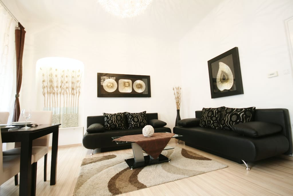 Vienna cityapartments luxury 1 apartments for rent in for Designer apartment vienna
