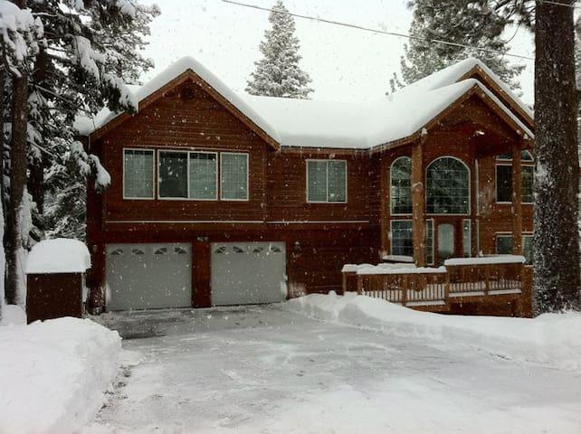 Tahoe Mountain Cabin