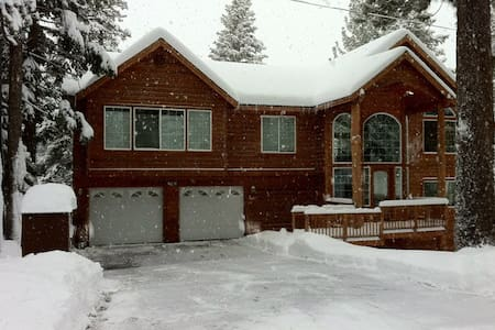 A private house with a mnt view - South Lake Tahoe - Rumah