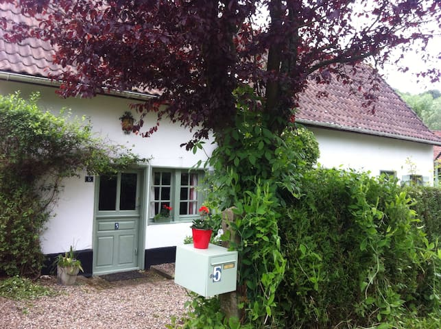 Lovely traditional cottage - Cavron-Saint-Martin - Hus