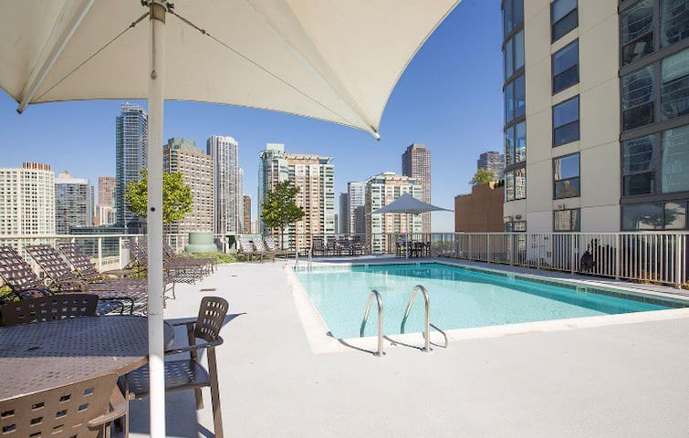 1BR in Luxury High Rise next to Millenium Park