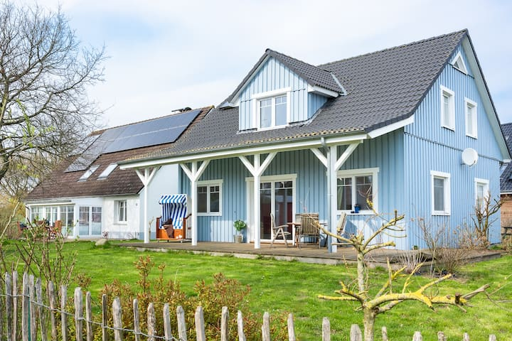 Ostseegarten Langholz Haus Himmelblau - 8 Pers.