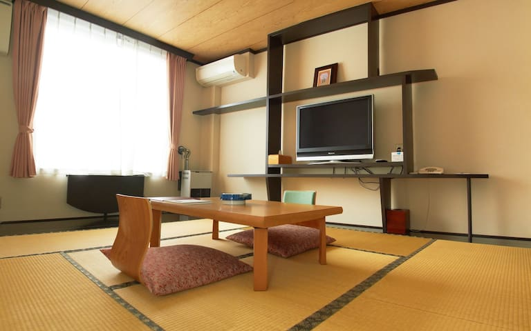 Japanese Style Room with Shared Bathroom - NS