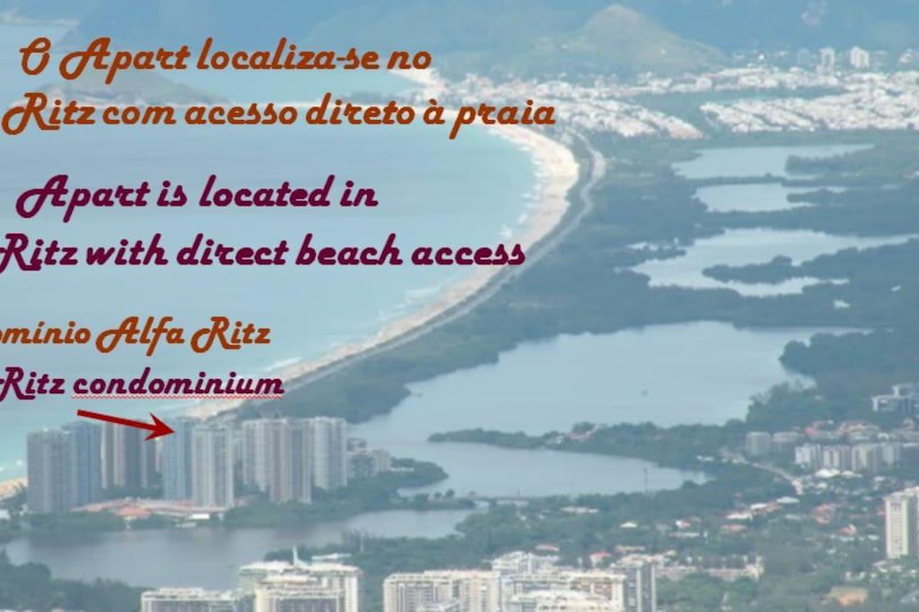 Localização do condomínio