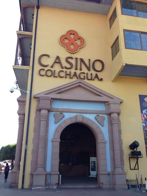 a 50 mts de Casino Colchagua