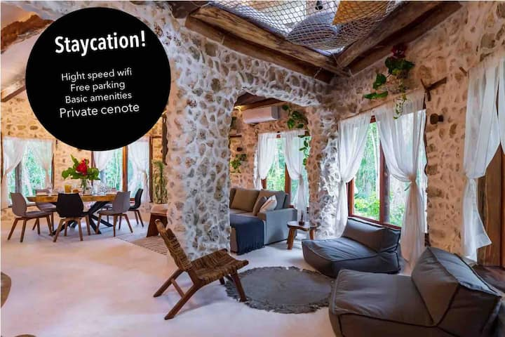 Brand New Jungle Retreat with Cenote