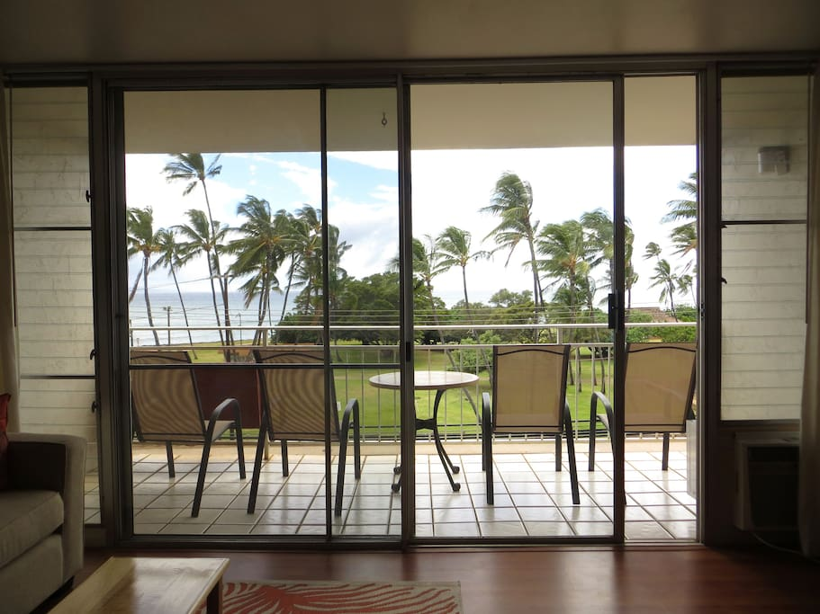 Lanai From Living Room