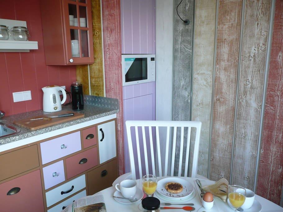 een kijkje op de keuken