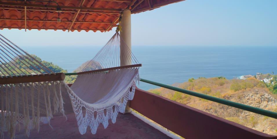Hermosa habitación con terraza Espectacular