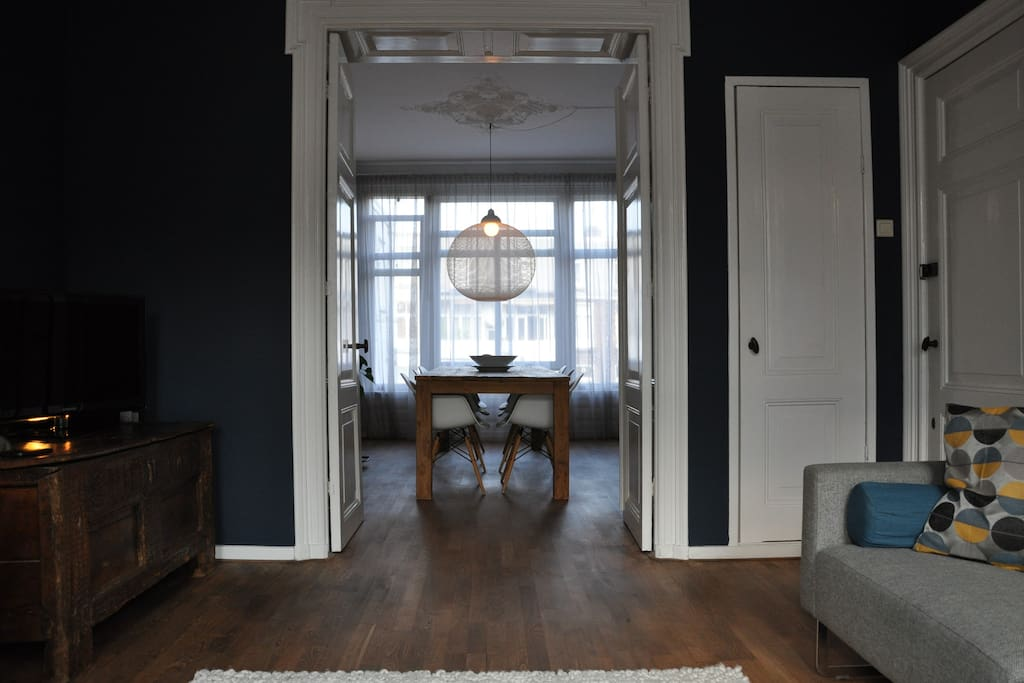 view to the dining room