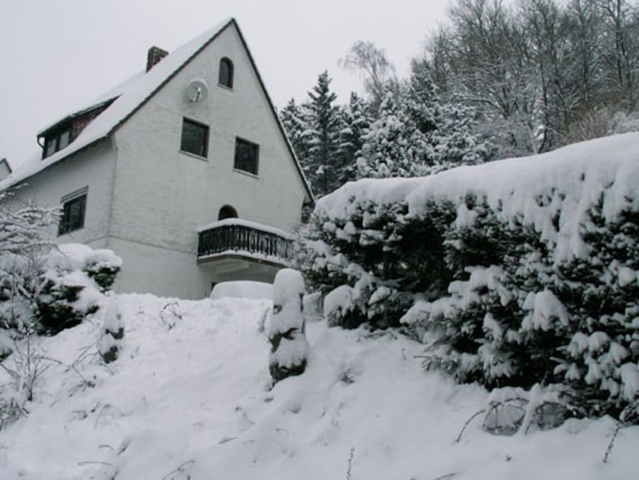 Sfeervol vakantiehuis op korte afstand van Winterberg