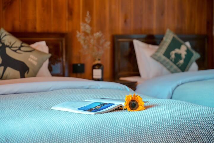 纳西观景双床房 三晚免费接机