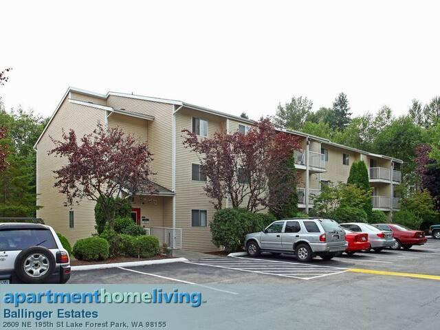 CLEAN, COZY, CONVENIENT apartment room - Lake Forest Park - Leilighet