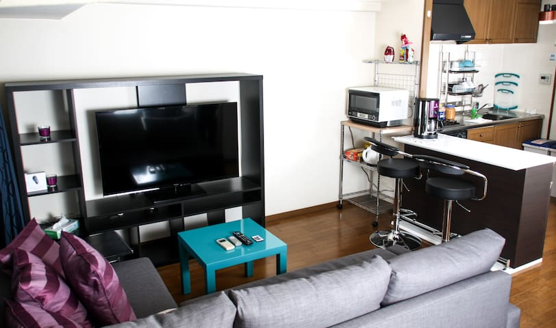 ☆ CENTRAL SHINSAIBASHI APARTMENT! BEST LOCATION ☆ - Osaka - Appartement
