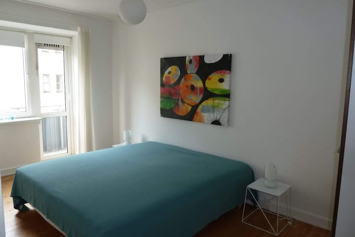 1st floor for 2 guests nearby Frederiksberg metro