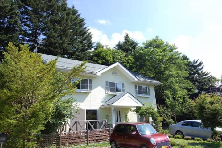 One entire house rent 15min to Karuizawa station.