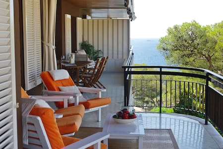 Beach apartment overseeing the see - Llafranc - Appartement