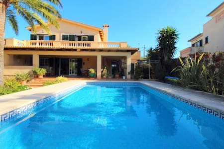 ESPECTACULAR VILLA SWIMMING POOL NEAR SEA WIFI - Llucmajor