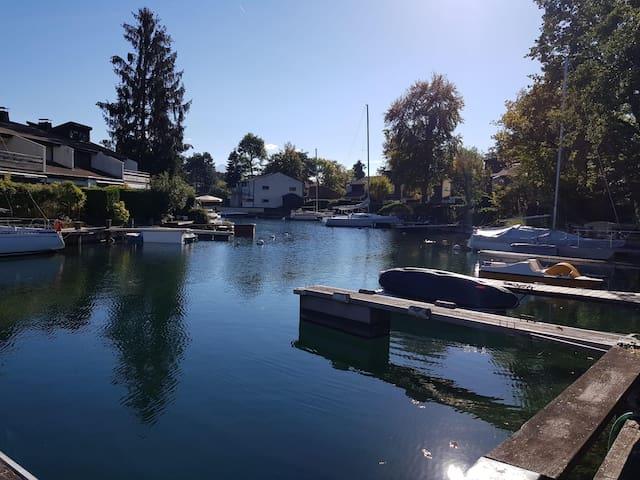 La Lagune 38 / Villa avec place d'amarrage