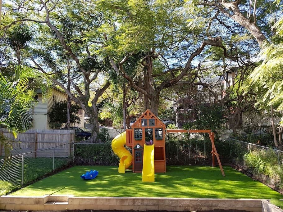 Playground in our backyard
