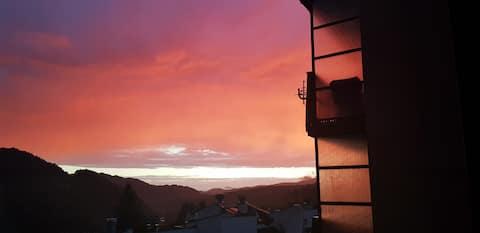 Apartament Połoniny z widokiem na góry