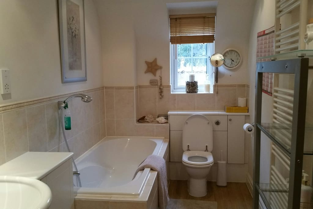 Bathroom which is shared by bedrooms 2 and 3.