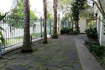 large resort like gated estate