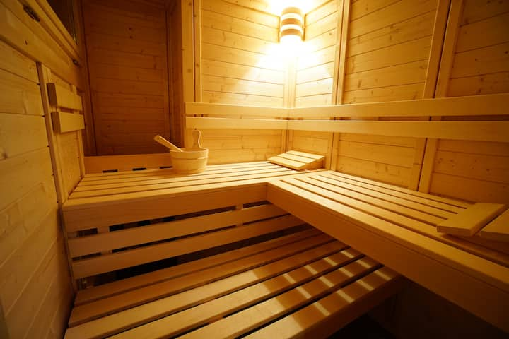 Apartment Hirschen with private sauna