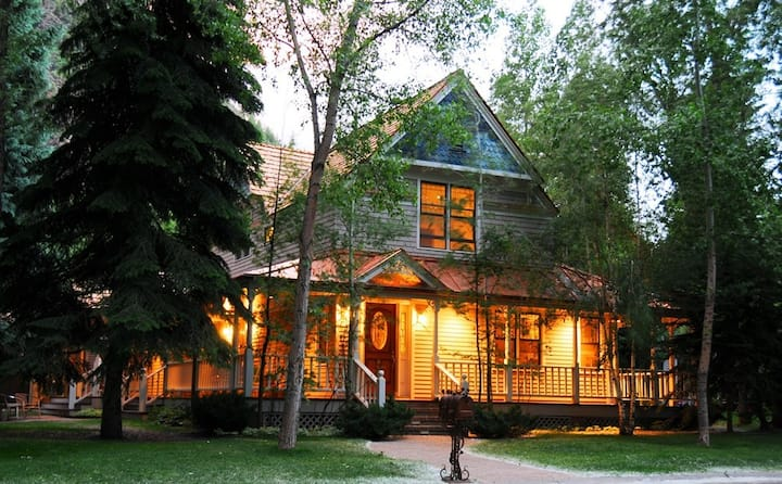 Two Aspen Victorians and Apartment