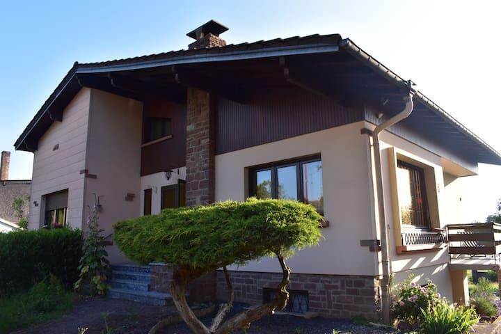 Maison proche du col du Donon et de Center Parcs