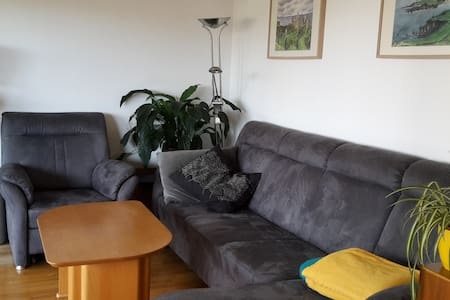 2 Room Flat in a quite place close to the city