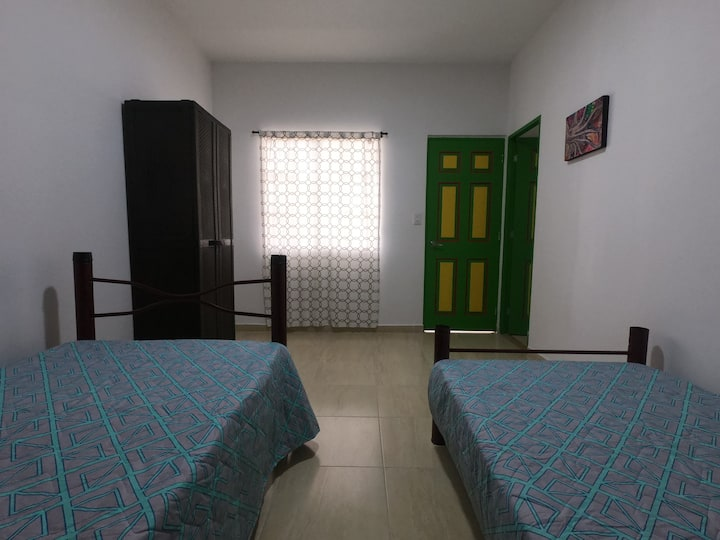 restored colonial house - room 2