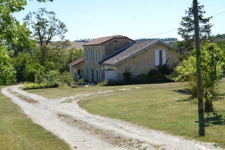 Marcadis Gite - 1BD Gite with 16 acres and lake - Moncrabeau