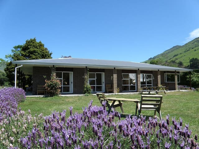 Guest House on Small Sheep Farm in Okains Bay - Okains Bay - Pension
