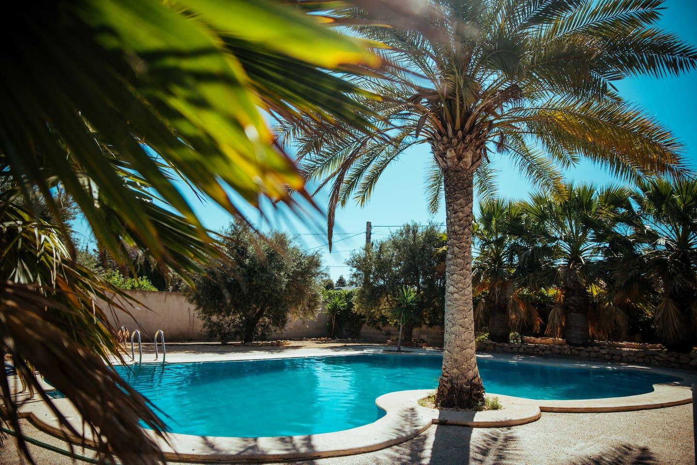 Piscina privada / Private pool Villa El Celler.