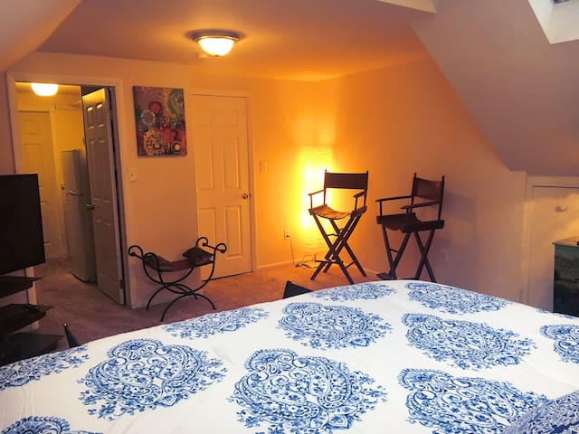 Large 2 Pers Suite - Heart of Downtown Rochester!