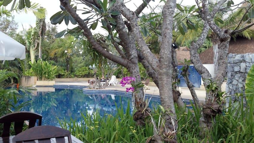 Garden villa (private van & driver) - Nong Kwai - Huis