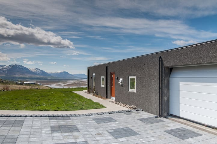 A BEAUTIFUL LUXURY VILLA IN NORTH ICELAND