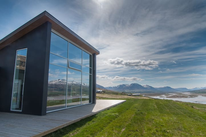 A beautiful villa in North Iceland
