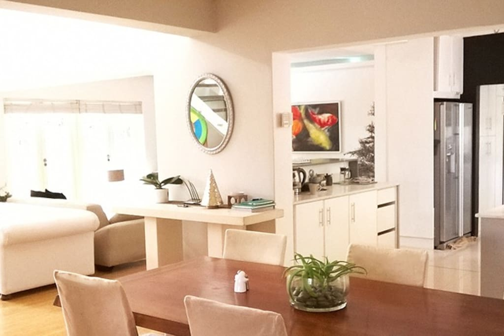 open plan and modern
