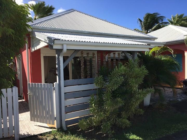 Maison en duplex à 50 mètres de la plage