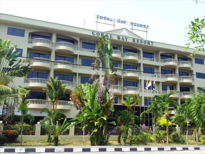 Pangkor Coral Bay Resort(2 bedrooms*) 休息小站