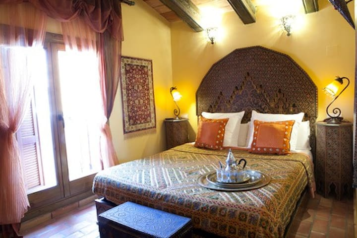 Habitación Doble con balcón Kashbah - Altea - Bed & Breakfast