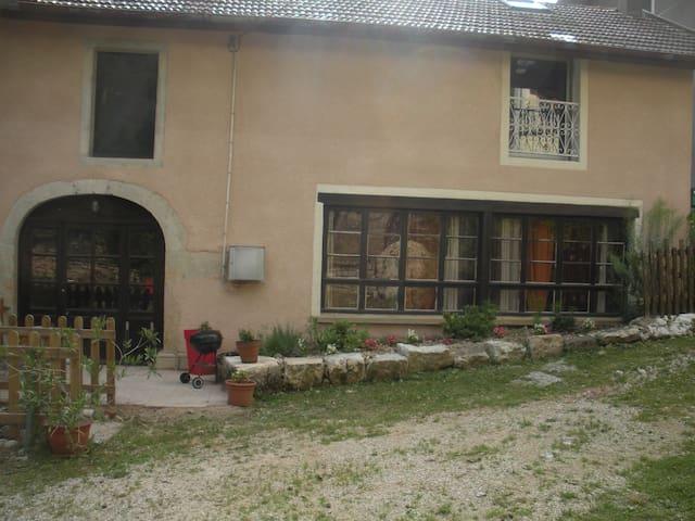 Gîte au fil de l'héria - Villards-d'Héria - Çatı Katı