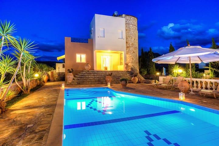 Luxury Villa Dyonisos - 6 bedrooms - Σίσι - Villa