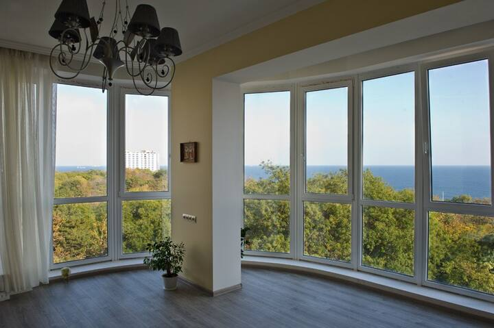 Apartment with a great SEA panorama