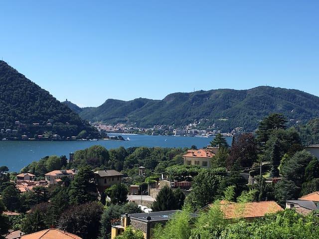 Stupenda vista lago di Como - Cernobbio  - Apartamento